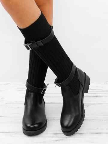 SHUJIN 2019 nuevas botas transpirables zapatillas de verano para mujer zapatos de plataforma plana calcetín de Mujer Zapatos calcetines femeninos botas 2019