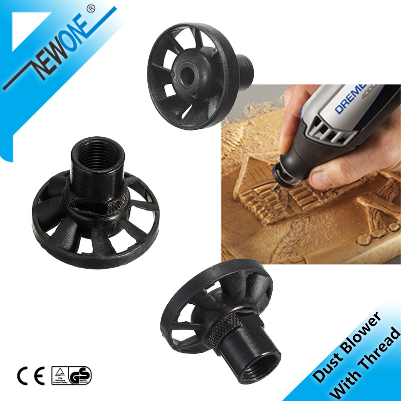 NEWONE M8*0.75 Dust Blower With Thread  Electrical Grinding Machine  For Dremel Rotary Tool Accessory Suit For DREMEL 3000
