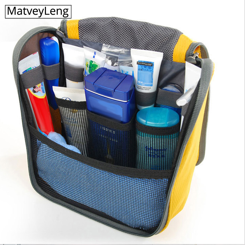 Fashion Colorful Travel Waterproof Hook Wash Bag / Storage Cosmetic Bag Wholesale