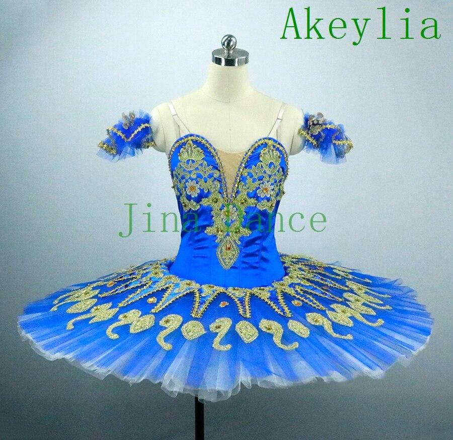 Adult Blue Bird Ballet Tutu Royal Blue Swan Platter Sugar Plum Fairy Professional Pancake Ballet Tutu Purple Pink For Women Girl