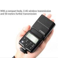 Godox V350 TTL 2.4G Camera Speedlight Speedlite Studio Flash for Nikon Canon Sony Fujifilm Olympus Godox Camera Flash