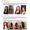 UEENLY 13x4 Lace Front Human Hair Wigs Brazilian Straight Human Hair Wigs 360 Lace Frontal Wig Pre Plucked 4x4 Lace Closure Wigs 6