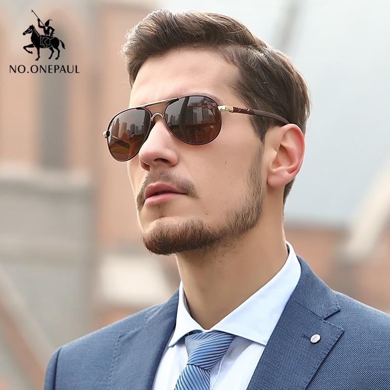 NO.ONEPAUL Polarized Men Sunglasses Designer Retro Square Sun Unisex Driving Aluminum UV400 Fishing Glasses Accessories Women