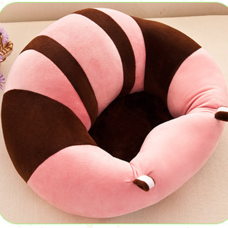 Explosion Baby Learning Seat Plush Toy Baby Eating Safety Dining Chair Baby Learning Chair Child Sofa 0-3 Years Old