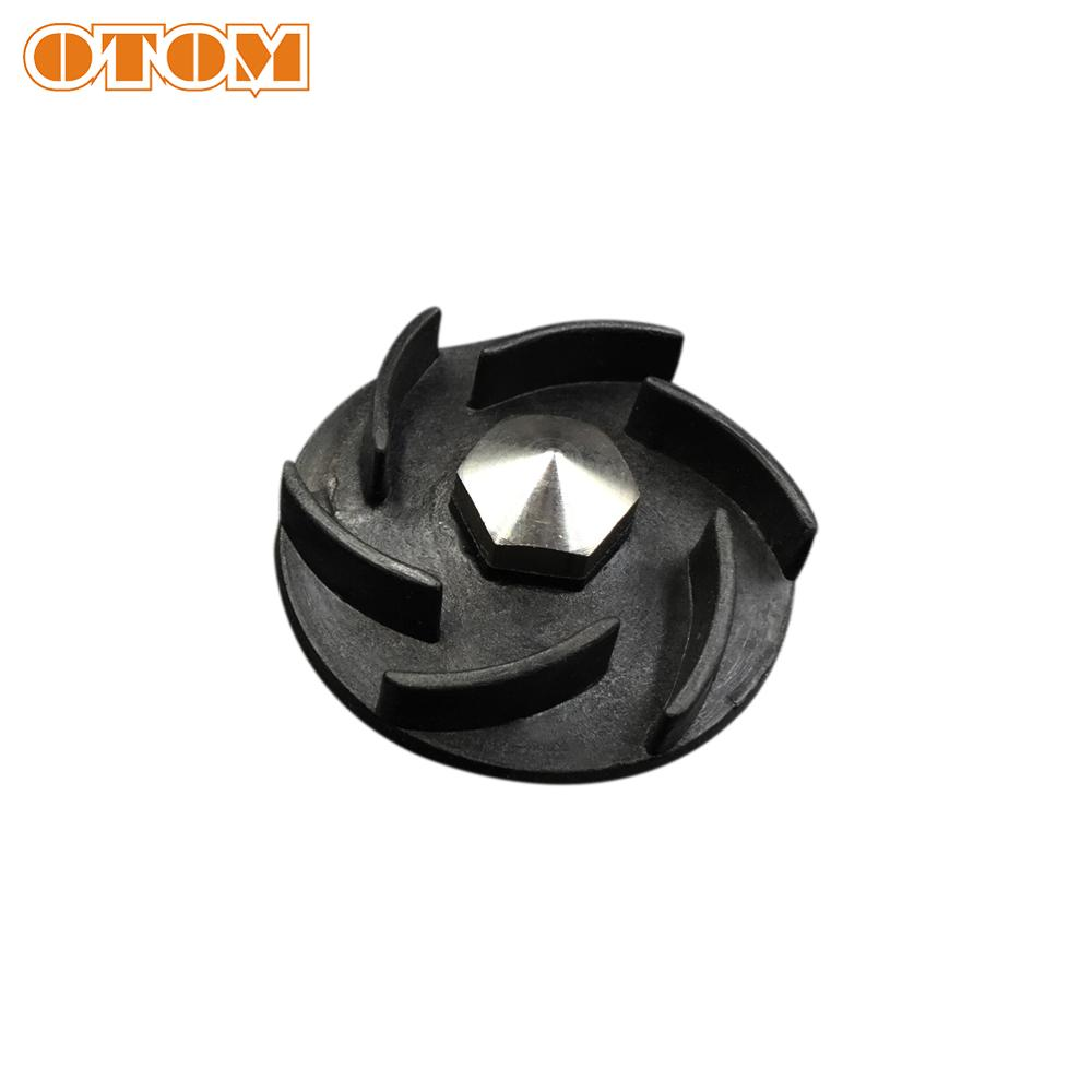 OTOM NC250 Parts Water Pump Gear (ANE Wheel) 6 Blades Water Pump Impeller Black For ZONGSHEN KAYO K6 T6 BSE J5 RX3 Xmoto ZS250GY