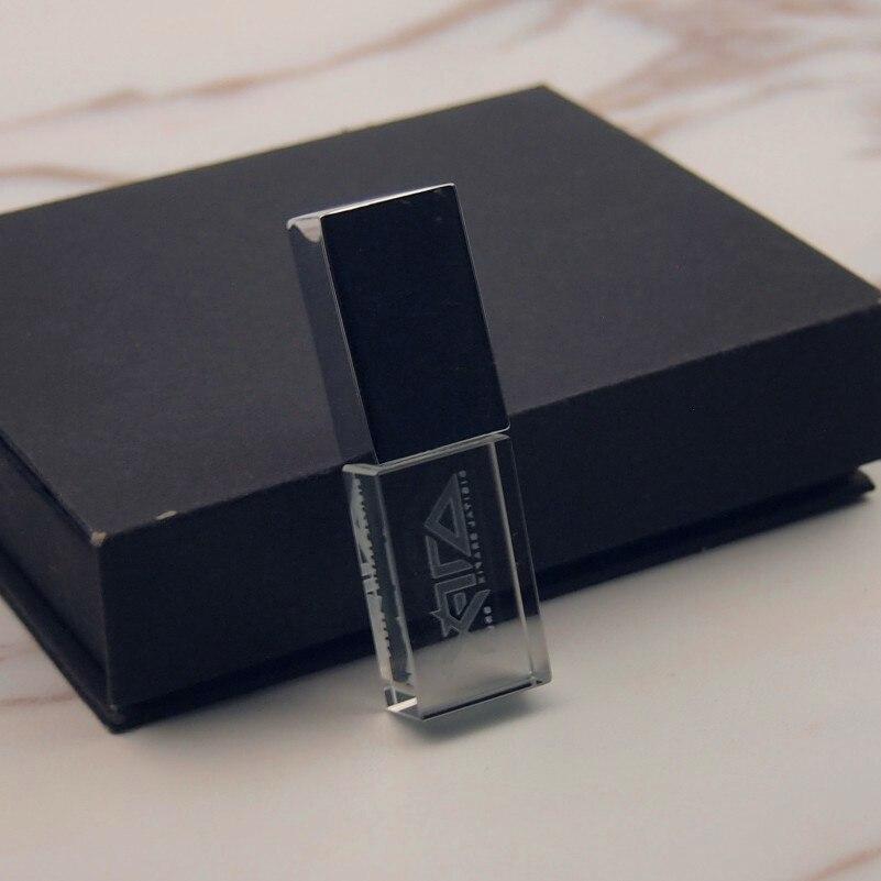 Pen-Drive Wedding-Gift Beautiful Diy-Designed Usb-Stick Logo Crystal 64GB 32GB New 8GB