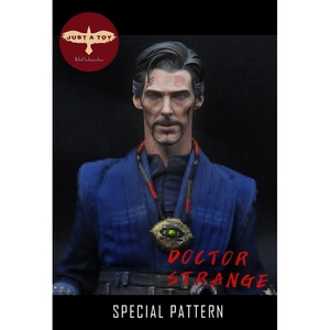 Image 2 - JUST A TOY 1/6 Doctor Strang Head Sculpt Close Eyes Version for 12inch Action Figure DIY