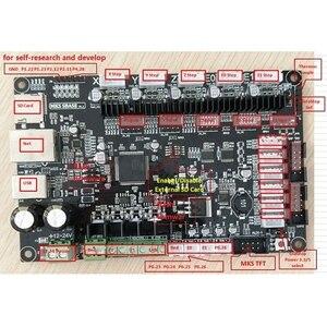 Image 4 - Makerbase MKS SBASE V1.3 tarjeta de Control de fuente abierta de 32 bits compatible con Marlin2.0 y Firmware Smoothieware compatible con pantalla TFT MKS y
