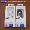 Оригинальный Samsung кабель для быстрой зарядки Micro USB 1 м/1,5 м/2 м линия передачи данных для Galaxy S4 S6 S7 EDGE j1 j3 j4 j6 j5 j7 A10 M10 C5 C7 C9
