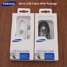 Original Samsung Cabo Micro USB de Carregamento Rápido 1M/1.5M/2M BORDA da Linha de Dados Para Galaxy S4 S6 S7 j1 j3 j4 j5 j6 j7 A10 M10 C5 C7 C9