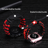 Cinturino cinturino per Huawei Watch Gt 2 GT2 46mm cinturino in Nylon per Samsung Galaxy Watch 3 41 45 Sport ombrello corda cinghie tessute a mano