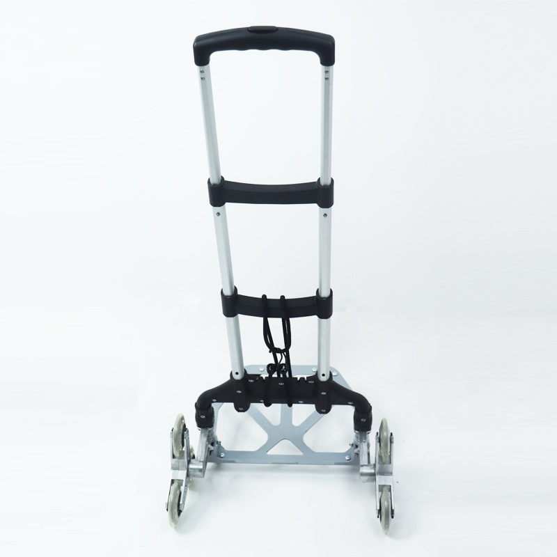 Portable Aluminum Alloy Hand Truck Foldable Cart Hand Cart Luggage Cart Ideal for Outdoor &Travel Use