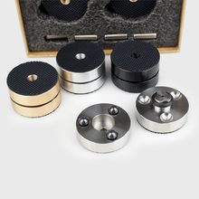 Derniers haut parleurs Audio HIFI amplificateur préampli DAC lecteur CD Anti amortisseur pieds coussinets Absorption des vibrations Stands pointes
