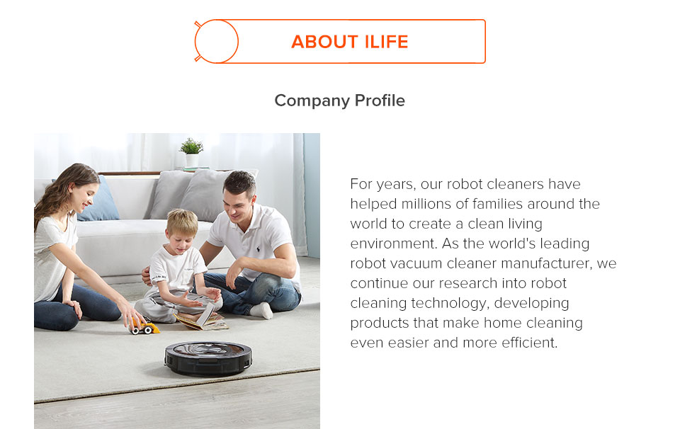 H609ce3c7578f44d9af4abf420c0b11e6O ILIFE V7s Plus Robot Vacuum Cleaner Sweep and Wet Mopping Disinfection For Hard Floors&Carpet Run 120mins Automatically Charge