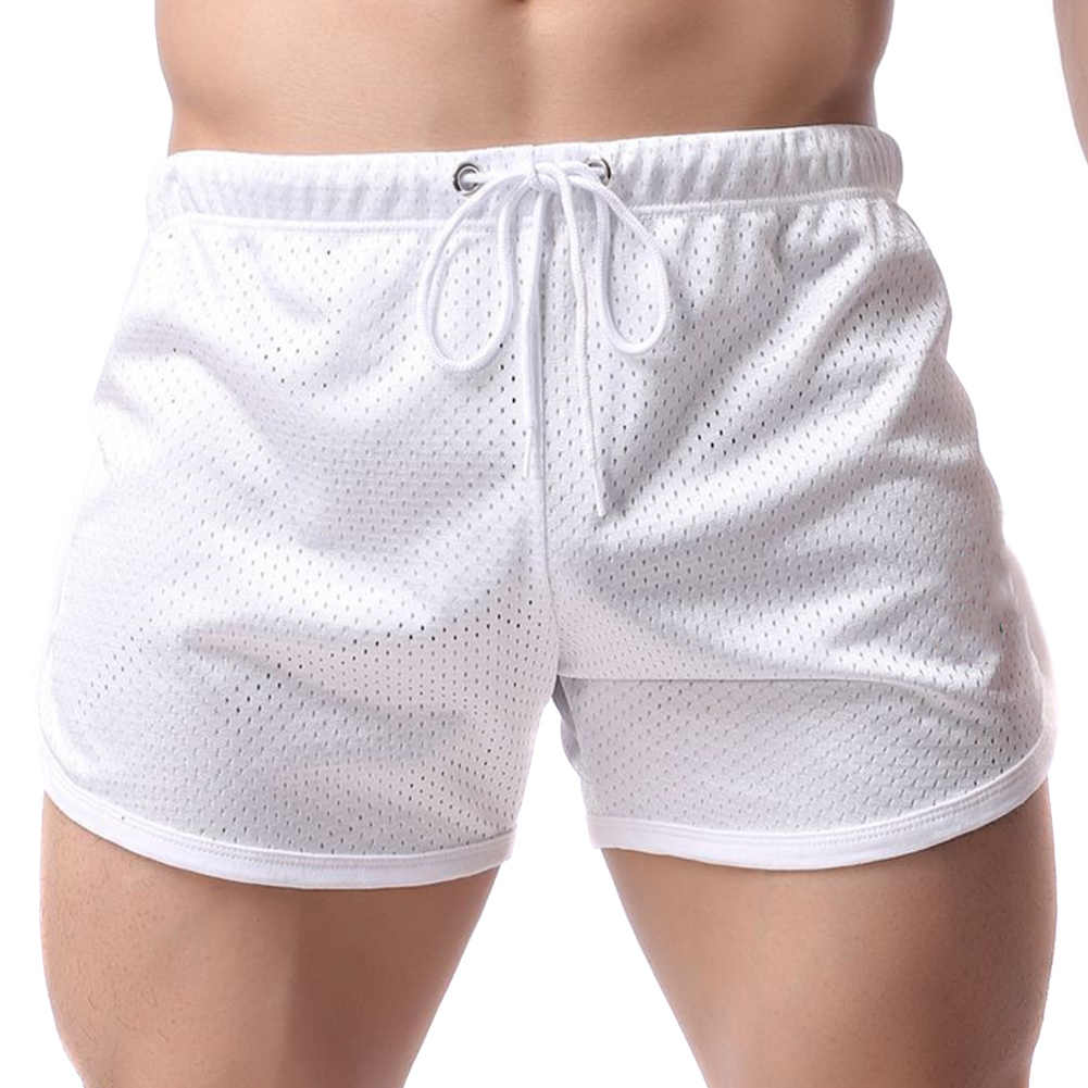 Mens Casual Short Pants Mesh Jogging Running Sports Wear Shorts Oversized QL Sale