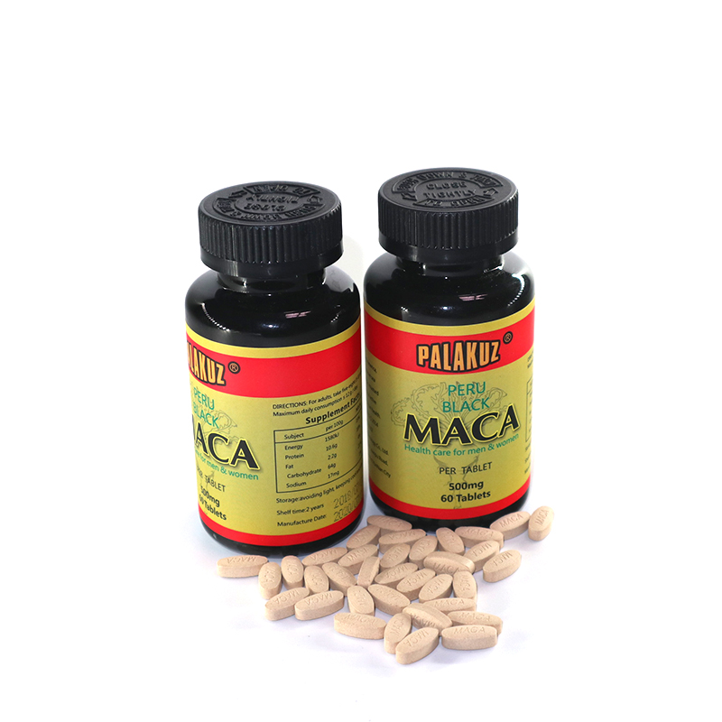 2 Bottle,Natural Black Maca Root Extracts Health Care Energy Boost Personal Care Both For Men & Women