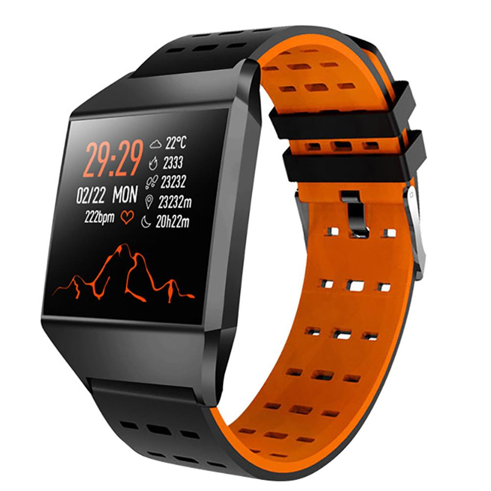 Longet Smart Watch W1C Heart Rate Monitor Fitness Tracker Watch Bluetooth Sleep Monitor Sport Watches For IOS Android