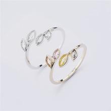 แหวนสตรีเครื่องประดับเครื่องประดับเจ้าสาวงานแต่งงานแหวนหมั้นของขวัญปรับ 2020 ออกแบบใหม่เงินทอง