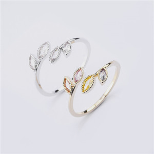 Image 1 - Rings For Women Females Jewelry Accessory Bridal Wedding Engagement Promise Gift Adjustable 2020 New Design Gold Silver Color