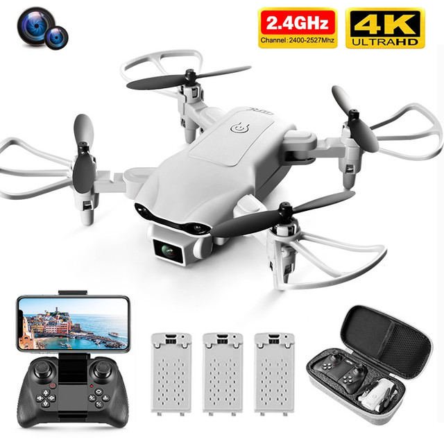 New V9 Mini Drone 4k profession HD Wide Angle Camera 1080P WiFi fpv Drone Dual Camera Height Keep Drones Camera Helicopter Toys 1