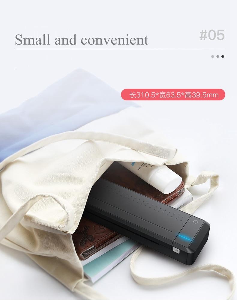 mini bluetooth usb impressora casa negócio com
