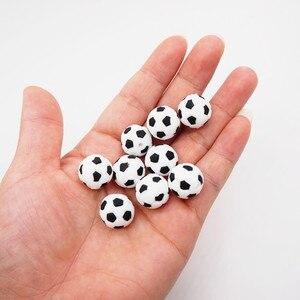 10 шт. силиконовые шарики для прорезывания зубов Chengkai, силиконовые шарики для прорезывания зубов в виде персонажей мультфильма «сделай сам», сенсорная игрушка для прорезывания зубов, бусины для изготовления украшений