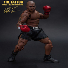 Full Set World Heavyweight Champion MIKE TYSON Tattoo Version with Three Heads Figure Model Action Toys for  Fans