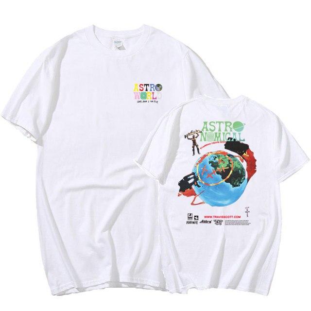 Travis Scott ASTROWORLD T Shirt 1