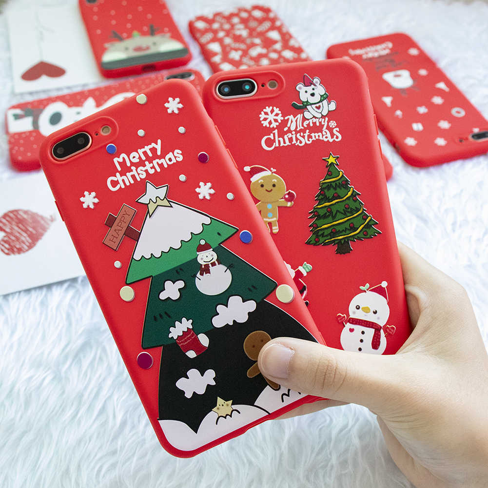 Christmas Gifts Matte TPU Cover For Huawei Mate 20 10 Lite Pro Y7 Y6 Pro Y9 2019 For Honor 20 Pro 20 10 9 8 Lite 20i 10i 8X Case