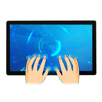 7 8 10 12 15 17 19 21.5 inch wall mounted fanless capacitive ip65 Industrial lcd no touch screen monitor