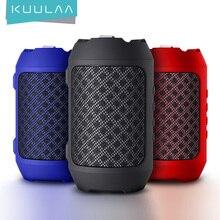 KUULAA Bluetooth speaker Portable Wireless Loudspeakers For Phone Computer Stereo Music surround Waterproof Outdoor Speakers Box