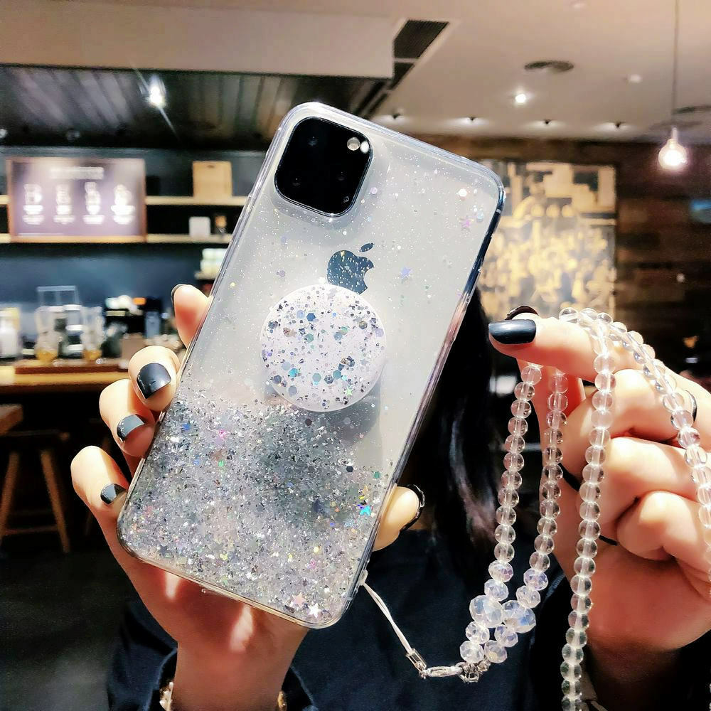 Bling Glitter Standing Case For iPhone Models Plus Slim Case With Stand Holder 22