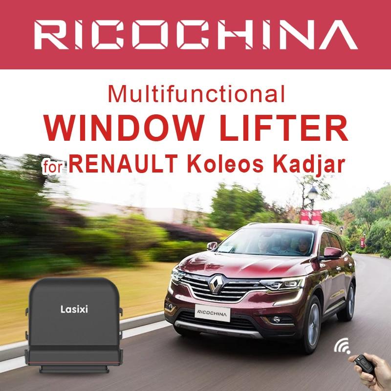 Moc auta podnoszenie okna + lusterko boczne System składania dla Renault Koleos Kadjar 2017-2020 moc zamknięcie do okna 2018