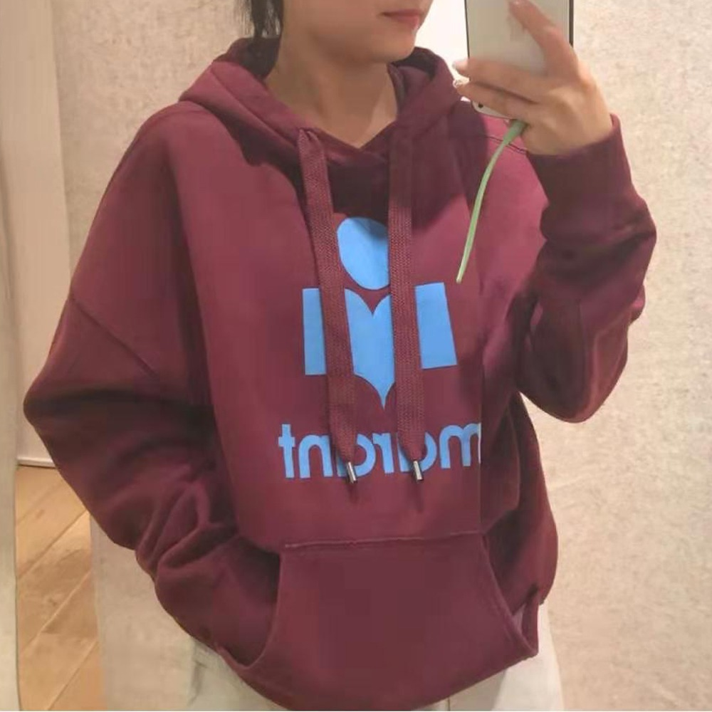 Women Hoodies 2020 Autumn Winter New Letter Print Cotton Hooded Plus Velvet Thick Warm Casual Sweatshirt Pullover Tops