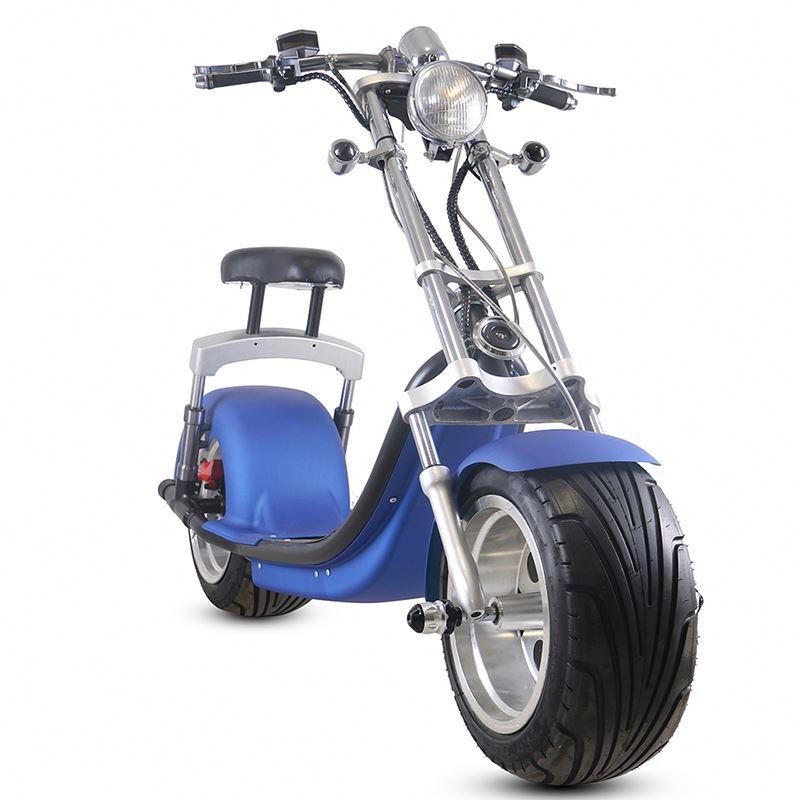 SC14 в Европе склад Eec/Coc 2 колеса электрический скутер мотоцикла город Коко электрический скутер 2000W Толстый 12 дюймов шин