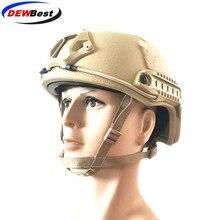 UHMWPE ISO Certified DELUXE Worm Dial NIJ Level IIIA FAST High Cut Bulletproof UHMWPE allistic Helmet With 5 Yrs Warranty