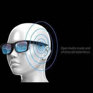 Image 3 - الراقية نظارات ذكية سماعة لاسلكية تعمل بالبلوتوث حر اليدين دعوة الموسيقى الصوت فتح الأذن النظارات الشمسية!