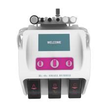 6 In 1 H2o2 Hydro gen Oxygen Small Bubble Facial Machine Hydra Peeling Face Lift Deep Cleaning Care Microdermabrasion