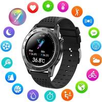 LIGE-reloj inteligente para hombre, nuevo accesorio de pulsera resistente al agua con temperatura múltiple, seguimiento de actividad deportiva y análisis de datos Android IOS salud, 2021