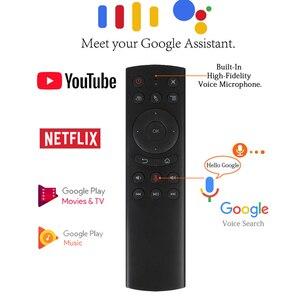 Image 5 - G20エアマウスgyrocopeスマートgoogleの音声検出2.4グラムir学習rfユニバーサルリモートコントロールミニpcアンドロイドテレビボックスHK1