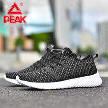 PEAK Men Casual Walking Shoes Mesh Breathable Slip-On Sports Youth Life Style Street Autumn Winter Outdoor Sneakers