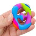 Простая сенсорная игрушка-антистресс Snapperz, снятие стресса, антитревожность, силиконовая игрушка, антистресс, игрушки-антистресс