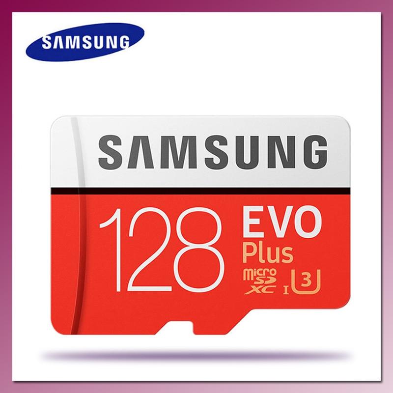 SAMSUNG – carte Micro SD EVO Plus, 32 go/64 go/128 go/256 go, classe 10, TF, 4K