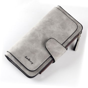 Women Wallets Name Engrave Fashion Long Leather Top Quality Card Holder Classic Female Purse  Zipper  Wallet For Women 26