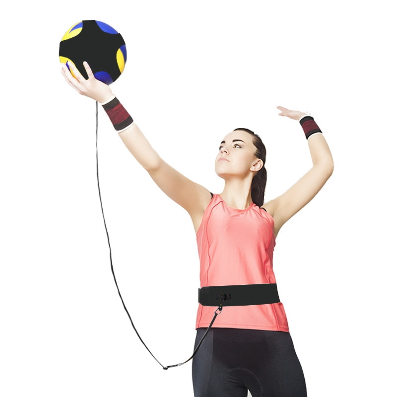 Sports Fitness Volleyball Practice Belt Adjustable Volleyball Training Equipment For Serving And Arm Swing Trainer