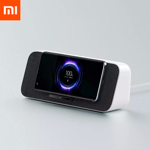 Image 1 - Xiaomi 30ワットmaxワイヤレス充電bluetooth 5.0スピーカーマイクサポートミ愛nfc iphone 11サムスンxiaomi 10/10プロ