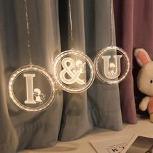 INS hot selling LED decorative lamp English alphabet lamp marriage courtesy design lamp birthday night lamp