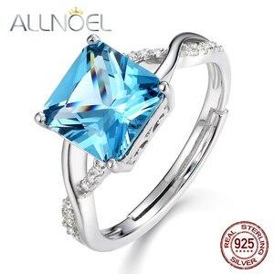 ALLNOEL Silver 925 Jewelry Gem
