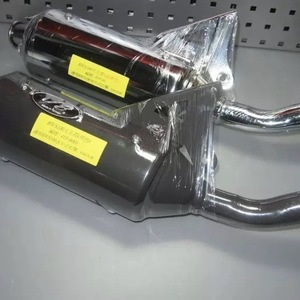 Image 1 - Exhaust pipe V8 for BWS100 4VP racing muffler 100cc tuning upgrade parts increased power bws 100