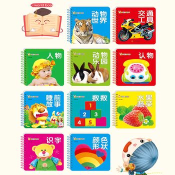 10pcs/set New Early Education Baby Preschool Learning Chinese characters cards with picture Left and right brain development aditya balapure learning metasploit exploitation and development